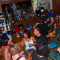 women at the bar in south padre island, texas