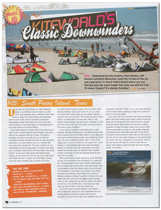 South Padre Island Downwinders Article
