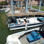 Air Padre Boat Fleet and Docks - South Padre