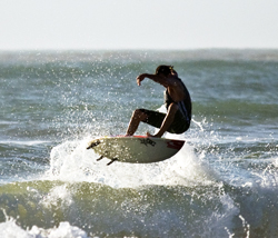 Surfing South Padre