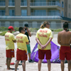 SPI Beach Patrol Yellow Shirts