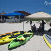 Kayak Rentals in Front of Wanna Wanna Beach Bar
