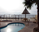 Bay Front pool view laguna madre bay south padre island texas