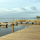Boat docks for excellent fishing on South Padre Island Bayfront Rentals