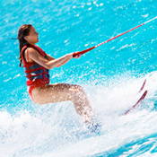 Waterskiing South Padre Island