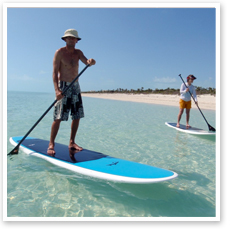 Stand up paddleboard (SUP) Lessons on South Padre Island, Texas
