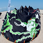 2012 Wainman Hawaii Rabbit Demo Kitessurfing Kite