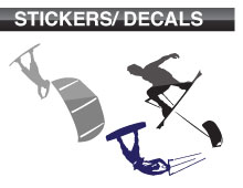View all Vinyl Kiteboarding Stickers