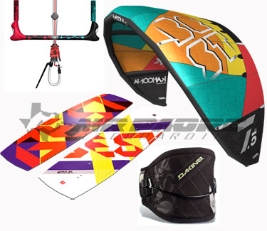 Best Kiteboarding complete beginner kitesurfing gear package