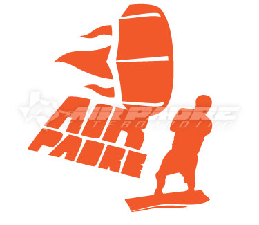 Air Padre Kiteboarder Sticker