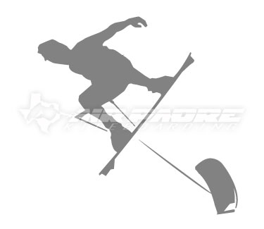 Handlepass Kiteboard Sticker