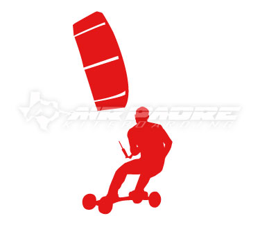 Kite Landboarding Sticker