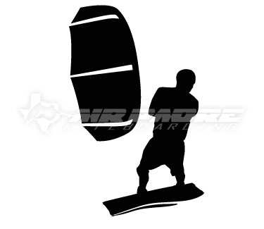 Kitesurfer Decal